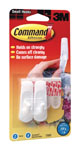 3M Command Adhesive 17002 Small Hooks Pack 2